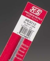 K & S Engineering Square Aluminum Tube 5/32''x.014''x12'' #83012