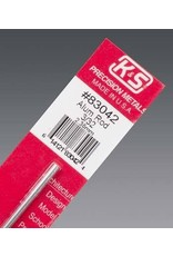 K & S Engineering Aluminum Rod 3/32''x12'' #83042