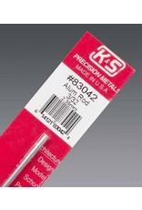 K & S Engineering Aluminum Rod 3/32''x12'' #83042