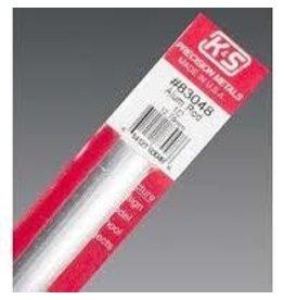 K & S Engineering Aluminum Rod 1/2''x12'' #83048