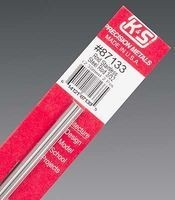 K & S Engineering Stainless Rod 3/32''x12'' (2pcs) #87133