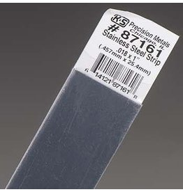K & S Engineering Stainless Strip .018''x1''x12'' #87161