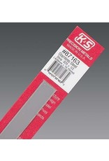 K & S Engineering Stainless Strip .025''x1/2''x12'' #87163
