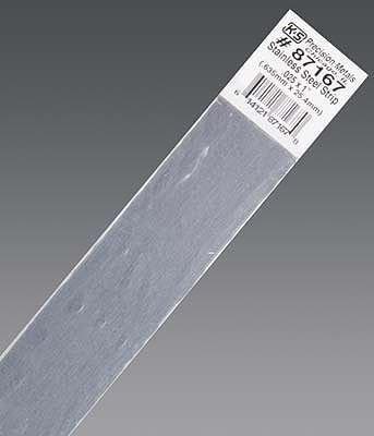 K & S Engineering Stainless Strip .025''x1''x12'' #87167