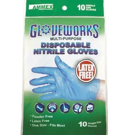 Gloveworks Nitrile Gloves One-size-fits-all 10 pack