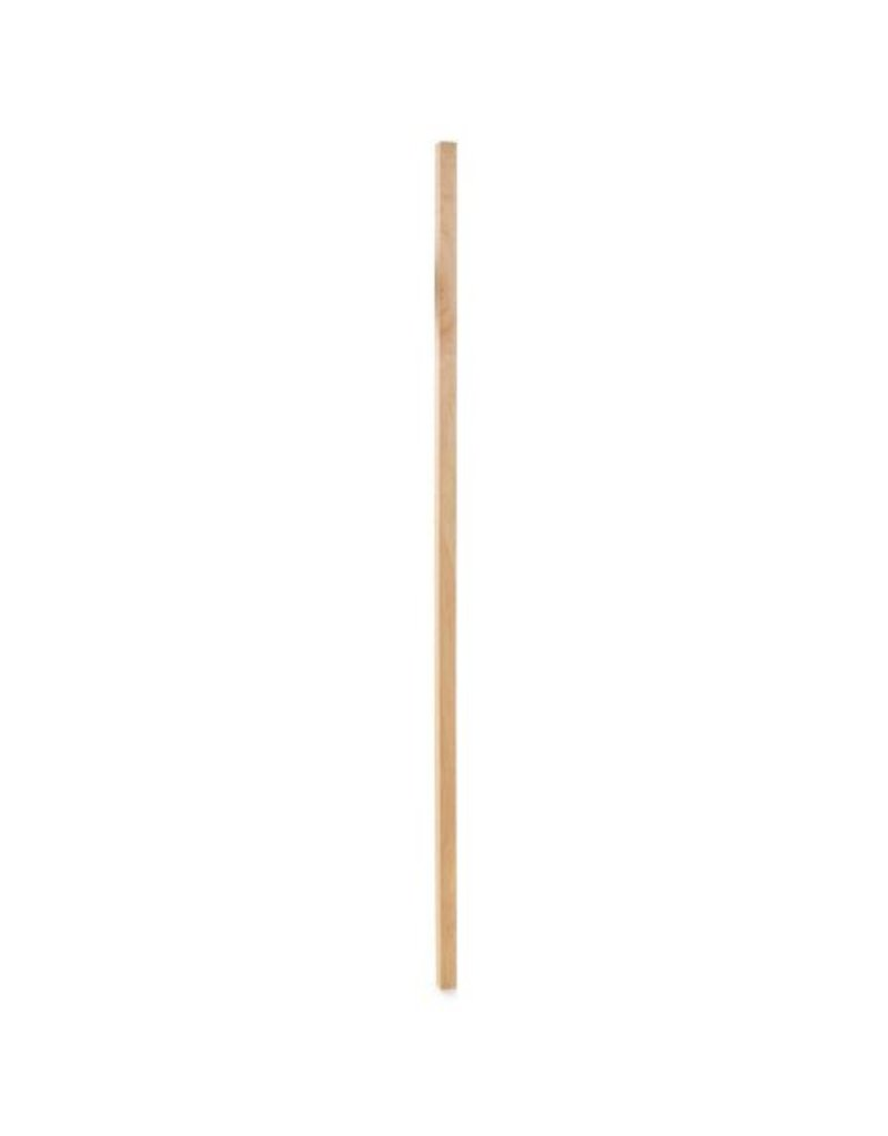 Wood 3/4'' Square Wooden Dowel Red Tip