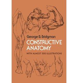 Dover Publications Constructive Anatomy Book
