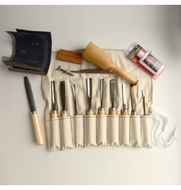 Sculpture House Advanced Wood Carving Tool Set K11