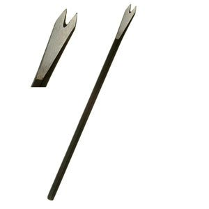 """Sculpture House Steel Hand Mini 2 Tooth Chisel - 1/4"""""""