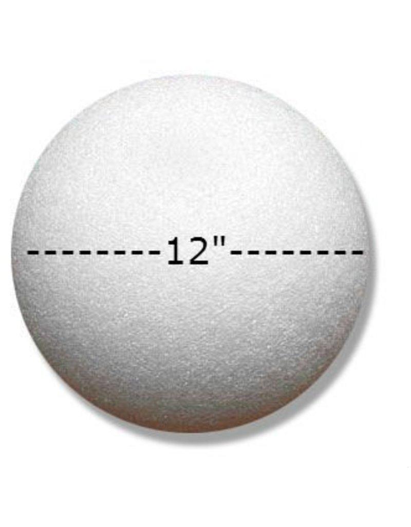 Styrofoam Ball 12''