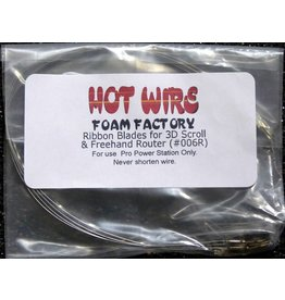 Hot Wire Foam Factory Replacement Ribbon Blades (6-pack)