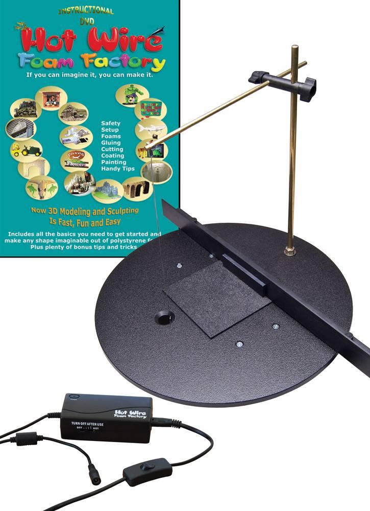 Hot Wire Foam Factory 3D Pro 16'' Scroll Table #K03DP