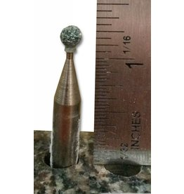 Just Sculpt Silicon Carbide Mounted Stone #123 (1/4'' Shank)