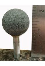 "Norton Silicon Carbide Mounted Stone #25 Sphere 1""D (1/4'' Shank)"
