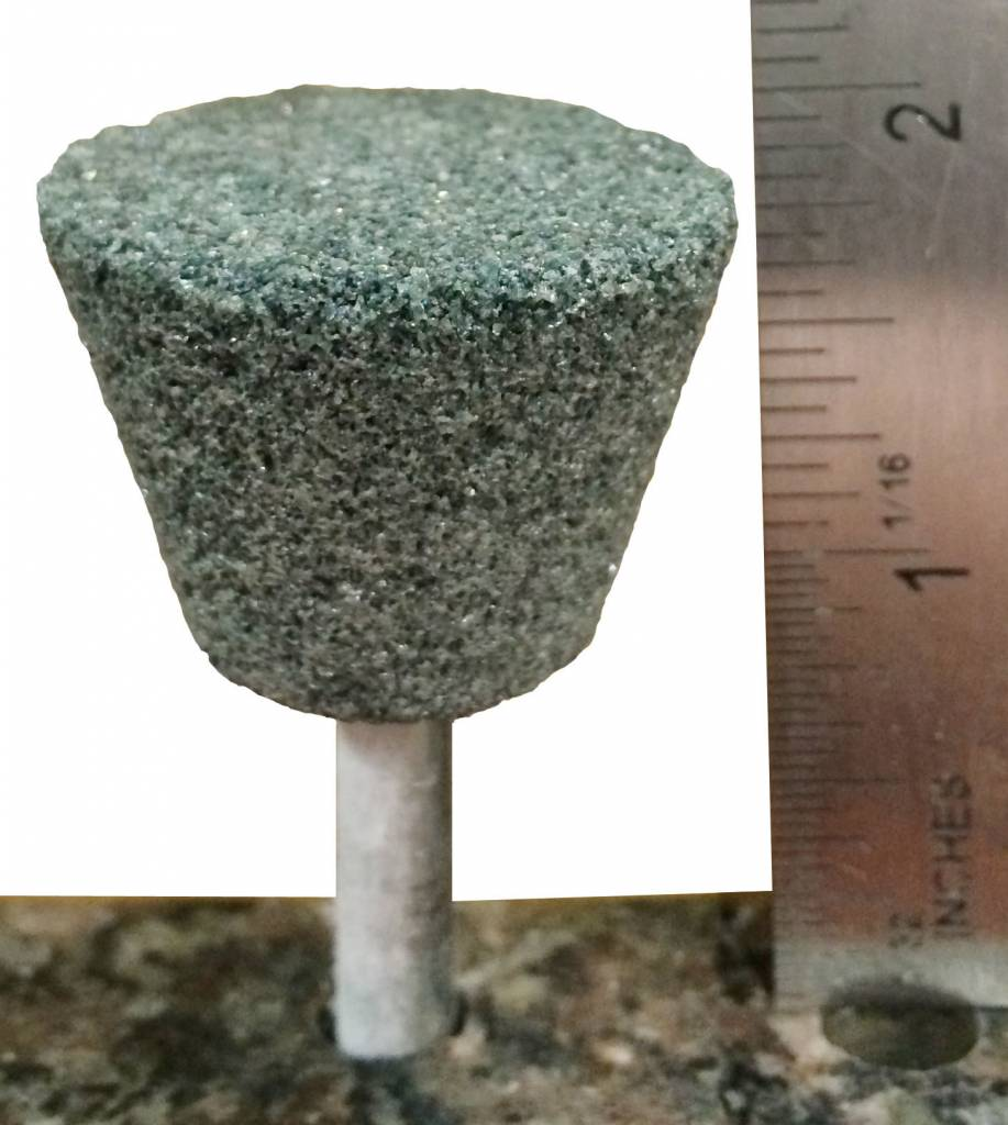 Just Sculpt Silicon Carbide Mounted Stone #31 (1/4'' Shank)