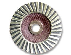 Just Sculpt MOP 4'' Diamond Lapping Wheel 60Grit (5/8'' Arbor)