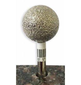 Just Sculpt VTS Burr Sphere 1'' X 50Grit (1/4'' Shank)