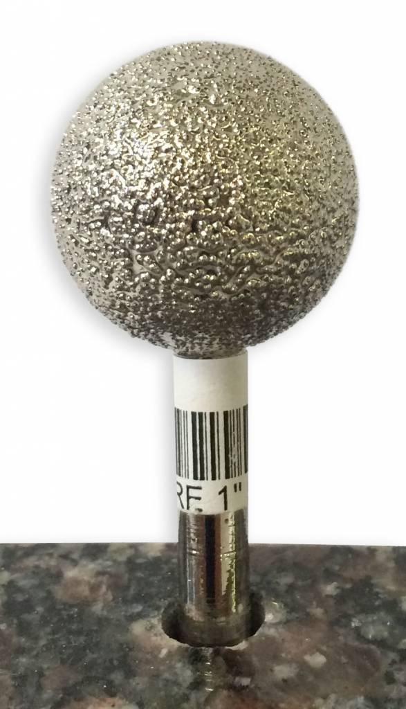 VTS Burr Sphere 1'' X 50Grit (1/4'' Shank)