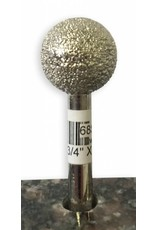 Just Sculpt VTS Burr Sphere 3/4'' X 50Grit (1/4'' Shank)