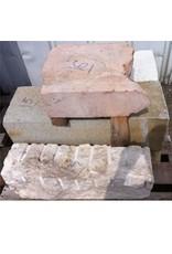 Stone Pale Grey Granite 34''x12''x12'' 410lb Stone