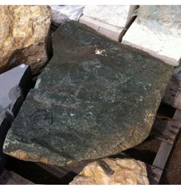 Stone Green/Black Granite With Small Crystals 22''x15''x19'' 205lb Stone