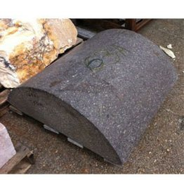 Stone Reddish Brown Granitic Porphery 31.5''x31.5''x11'' 750lb Stone