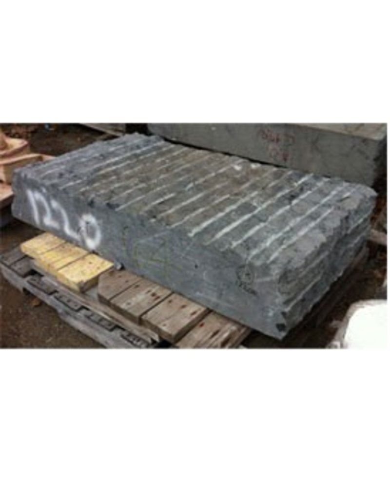 Stone Belgian Black Marble 55''x27''x10'' 1220lb Stone