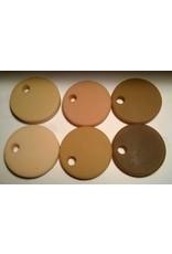 SAM Silicone Dispersion Skin Tone 7ml Set (6 Skin Tones)