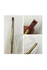Cuturi Carbide Pneumatic 4 Tooth Chisel (7.5mm shank-type E)