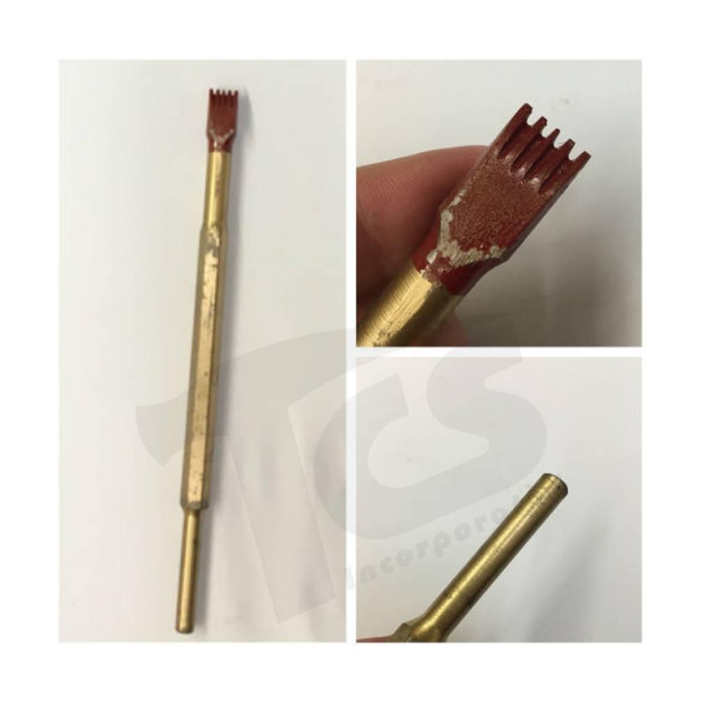 Cuturi Carbide Pneumatic 5 Tooth Chisel (7.5mm shank-type E)