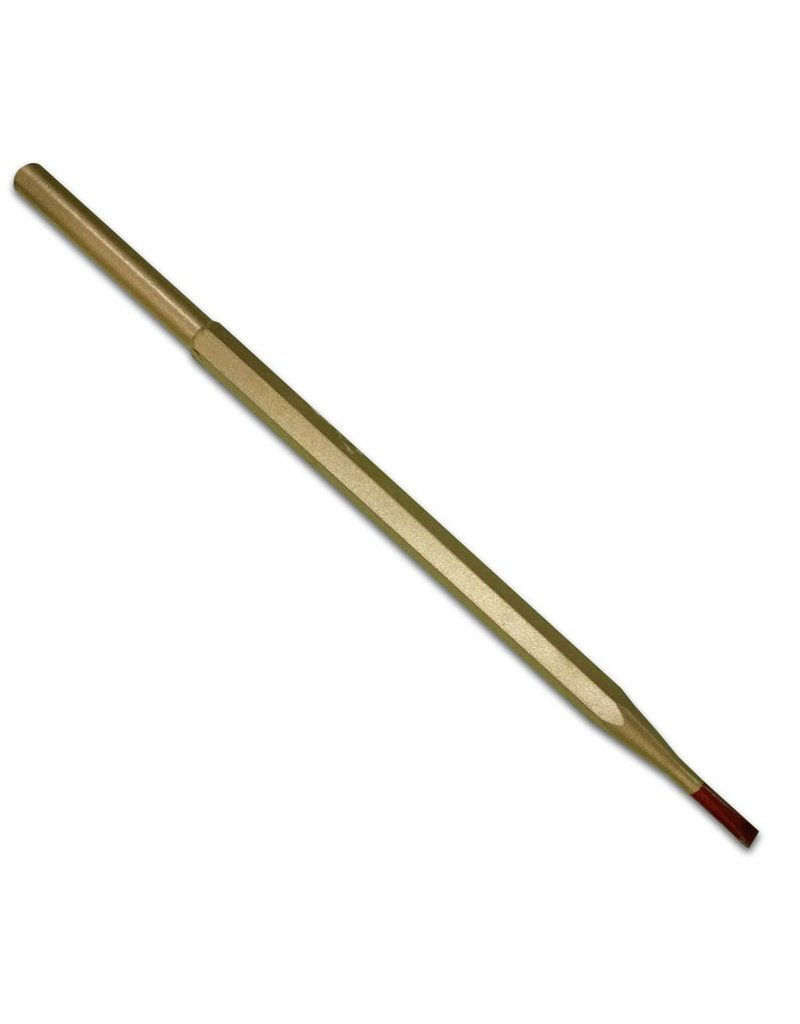 Cuturi Carbide Pneumatic Flat Chisel 4mm (7.5mm shank-type E)