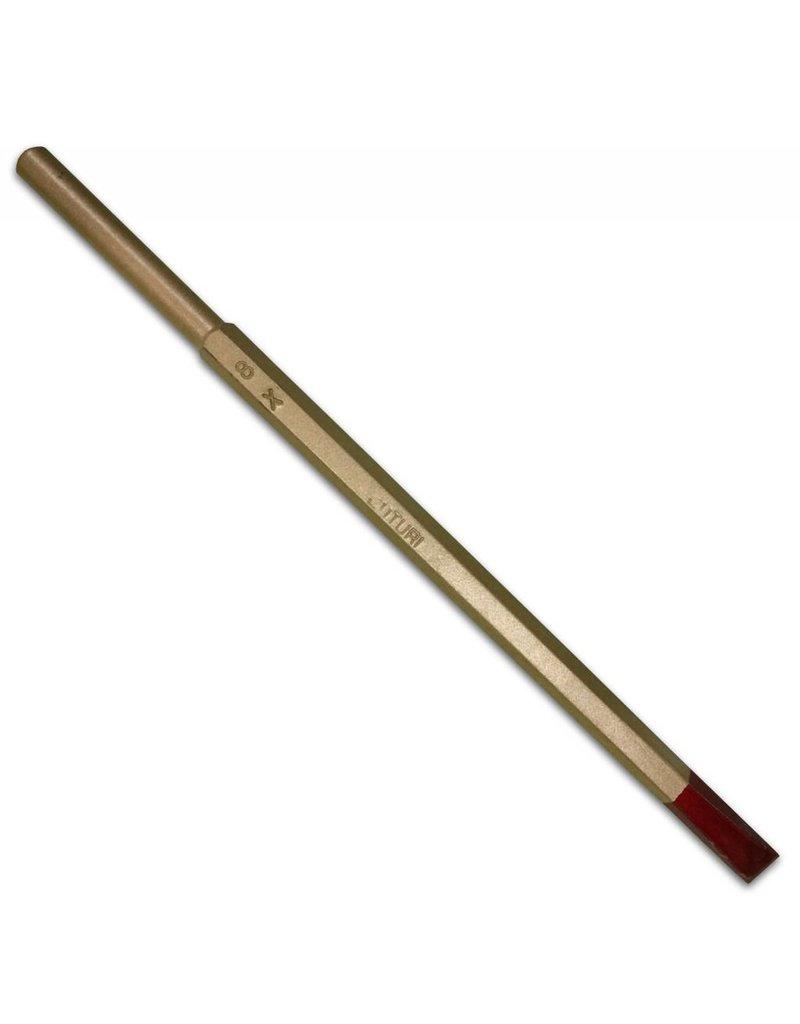 Cuturi Carbide Pneumatic Flat Chisel 8mm (7.5mm shank-type E)