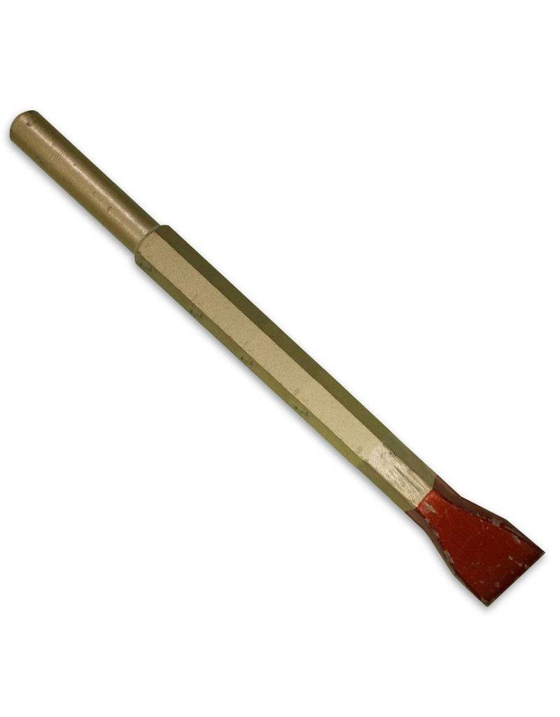 "Cuturi Carbide Pneumatic Flat Chisel 25mm 1"" (12.5mm shank)"