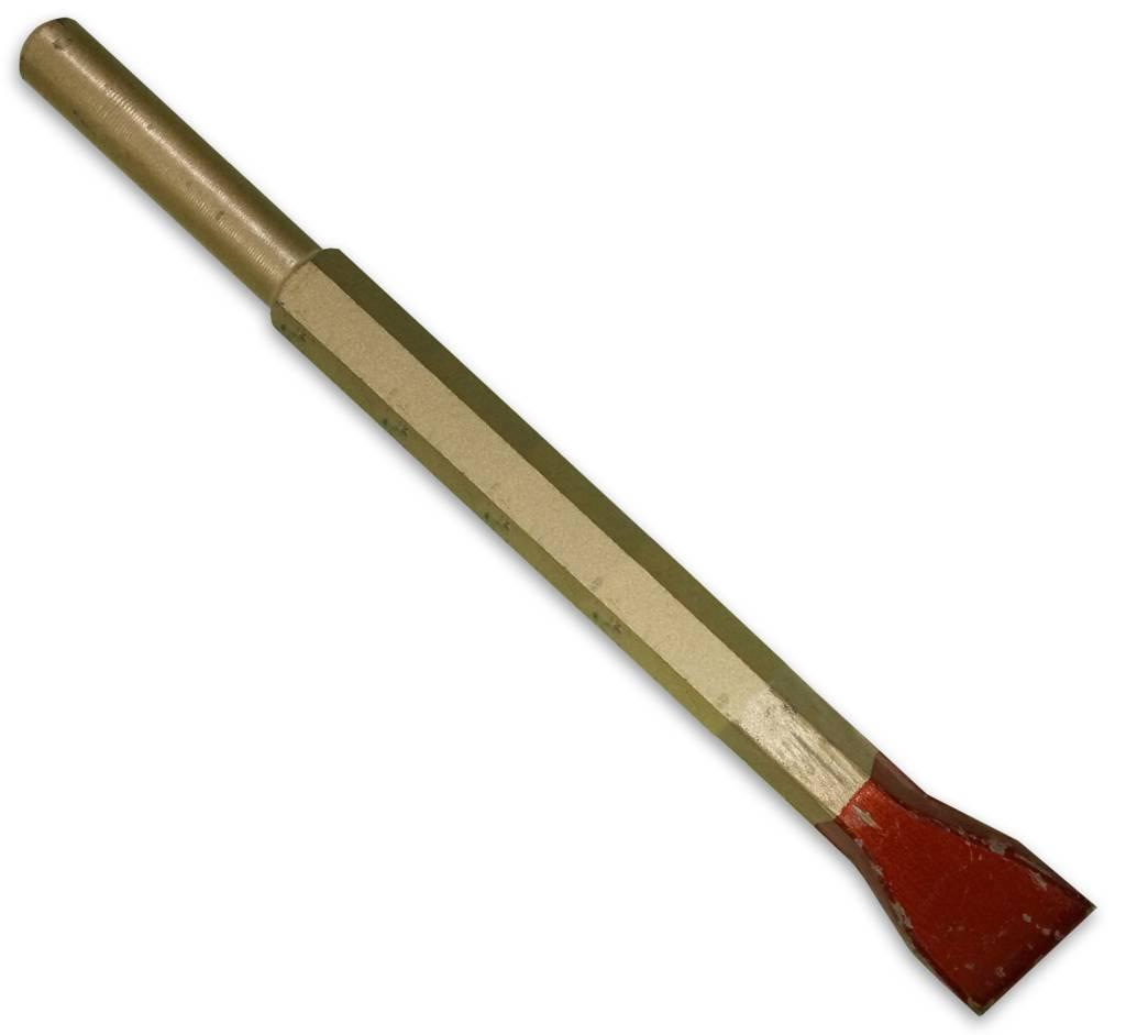 Cuturi Carbide Pneumatic Flat Chisel 25mm (12.5mm shank)