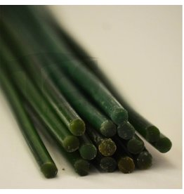 Paramelt Wax Sprue Green Round Solid 1/4'' (15 Pieces)