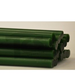 Paramelt Wax Sprue Green Round Solid 3/8'' (15 Pieces)