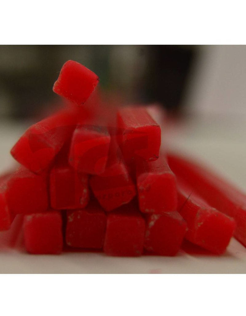 Paramelt Wax Sprue Red Square Solid 1/4'' (15 Pieces)