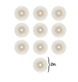 3M 3M Radial Bristle Disc 2'' White 120Grit (10 Pack)