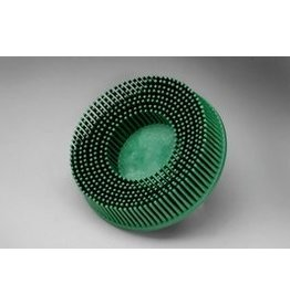 3M 3M ROLOC Bristle Brush 3'' Green 50 GRIT
