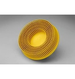 3M 3M ROLOC Bristle Brush 3'' Yellow 80 GRIT