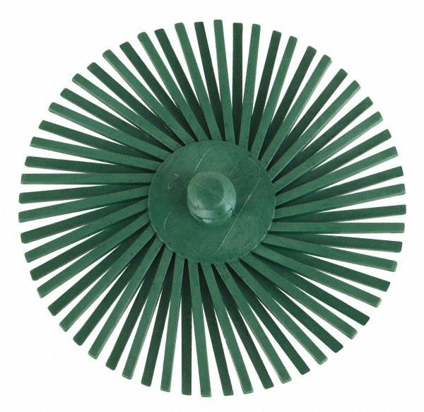 3M ROLOC Radial Bristle Disc 3'' Green 50Grit (5 Pack