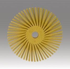 3M 3M Radial Bristle Disc 3'' Yellow 80Grit (5 Pack)