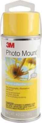3M 3M Photo Mount Spray Adhesive 2oz