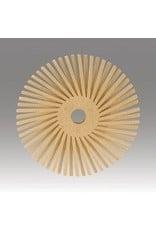 3M 3M Radial Bristle Disc 9/16'' Peach 6 Micron Polish I (48 Pack)