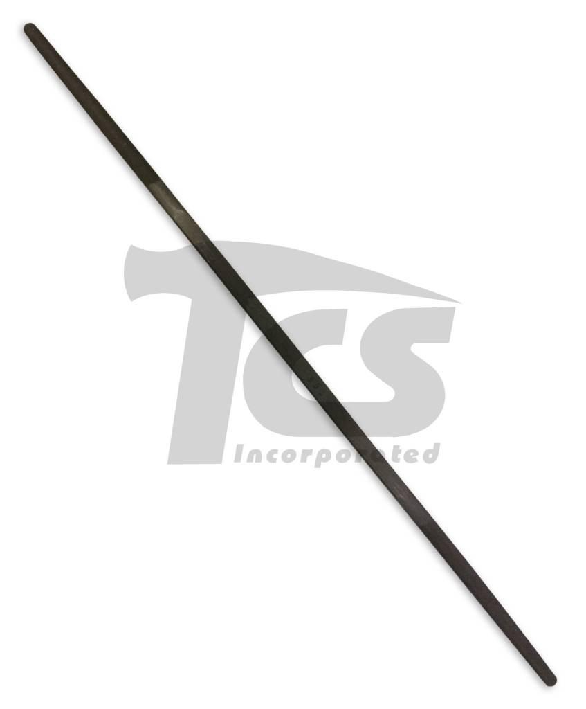 "Swiss/English Steel Riffler #553 6"""