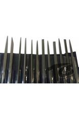 Just Sculpt Small Steel Needle File Set Fine 12pc