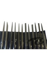 Just Sculpt Small Steel Needle File Set Fine 6pc