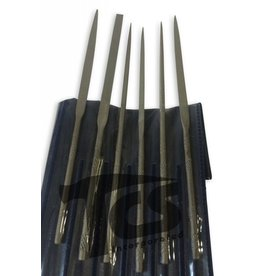 Just Sculpt Small Steel Needle File Set Fine 12pc