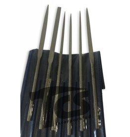Just Sculpt Small Steel Needle File Set Fine 6pc