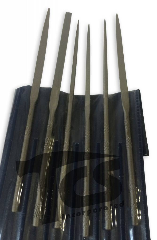 Small Steel Needle File Set Fine 12pc
